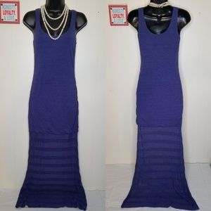 Victoria Secret Blue Maxi Beach Sun Dress - Small